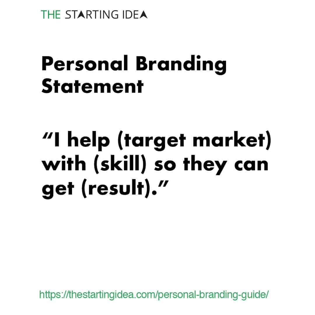Personal Branding: The Ultimate Guide (2019) | The Starting Idea